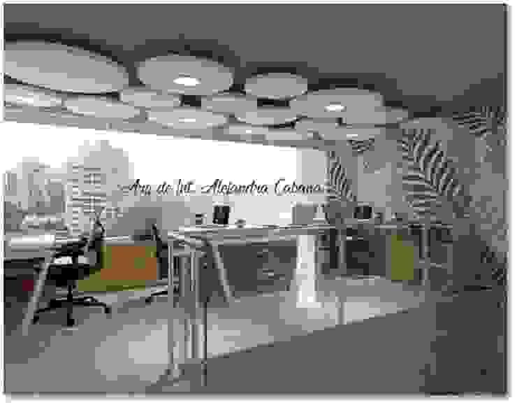 OFICINA COWORKING de Alejandra Cabana /DecoglamStudio