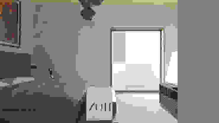 Habitación principal Cuartos de estilo moderno de Alexander Chivico & Architects Moderno Concreto