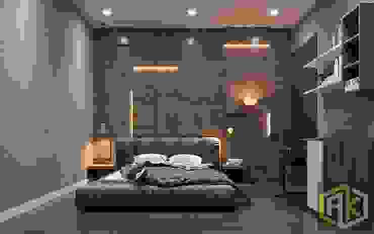 THIẾT KẾ NỘI THẤT CĂN HỘ BOTANICA | An Khoa Design Phòng ngủ phong cách hiện đại bởi Công ty TNHH Tư vấn thiết kế xây dựng An Khoa Hiện đại