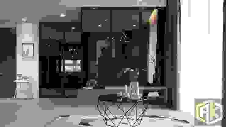 THIẾT KẾ NỘI THẤT CĂN HỘ BOTANICA | An Khoa Design bởi Công ty TNHH Tư vấn thiết kế xây dựng An Khoa Hiện đại