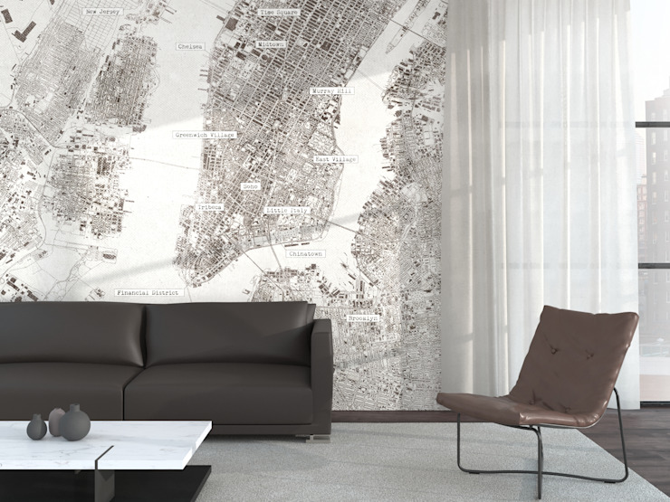 NYC Cartilla Studio in stile industriale
