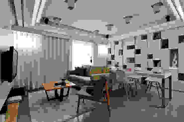 辦公洽談區 by 墨映室內裝修設計 Modern Wood Wood effect