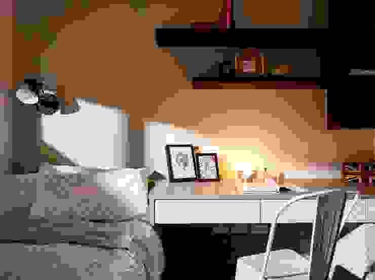 客房 根據 墨映室內裝修設計 現代風