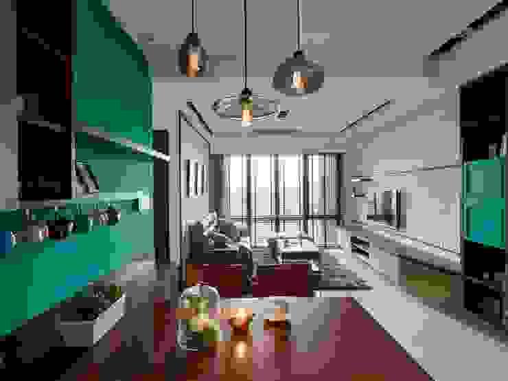 餐廳 根據 墨映室內裝修設計 現代風