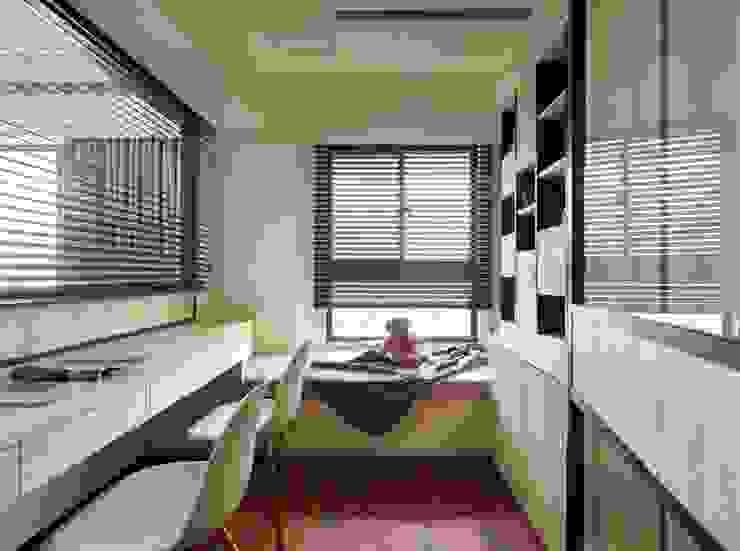 書房 根據 墨映室內裝修設計 現代風