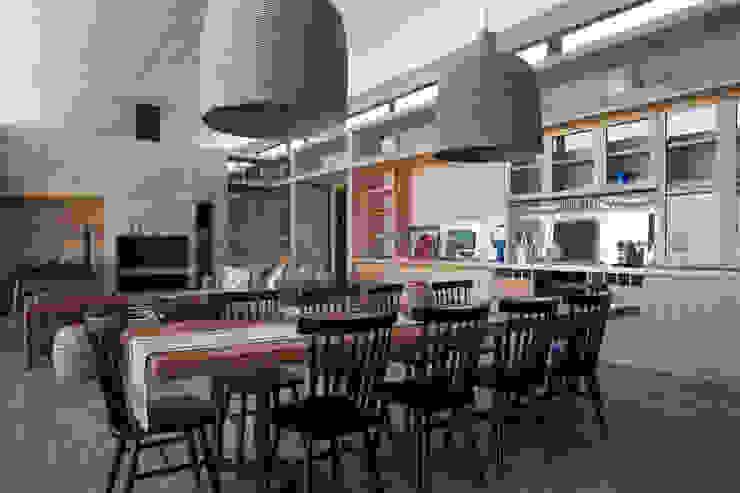Living - Comedor - Cocina BGA Casas estilo moderno: ideas, arquitectura e imágenes Concreto reforzado