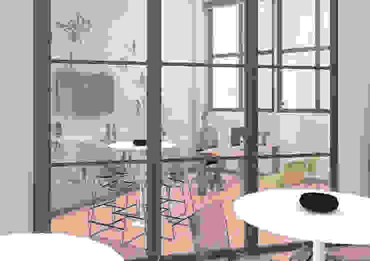 OrBiTa - Architettura oltre lo spazio Ruang Studi/Kantor Modern
