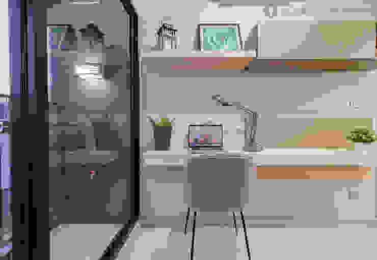 BuiltIn ห้องทำงาน: ทันสมัย  โดย Global Decorate, โมเดิร์น
