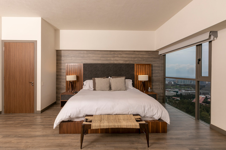 Indesign Living Small bedroom Wood Brown
