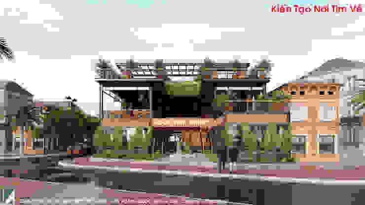 COFFEE – BIA – HẢI PHÒNG . bởi Kiến trúc Việt Xanh