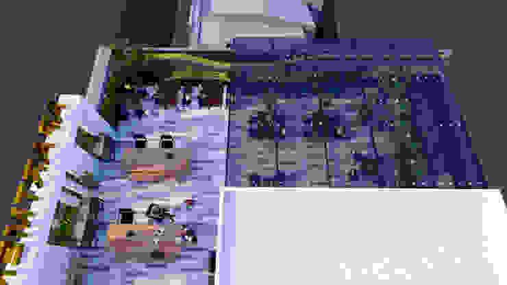 VĂN PHÒNG & CĂN HỘ CAO CẤP CHO THUÊ 08 TẦNG bởi Kiến trúc Việt Xanh