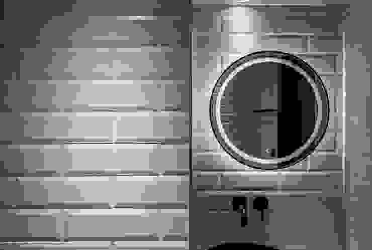 大安L&C 現代浴室設計點子、靈感&圖片 根據 無相室內裝修有限公司 現代風