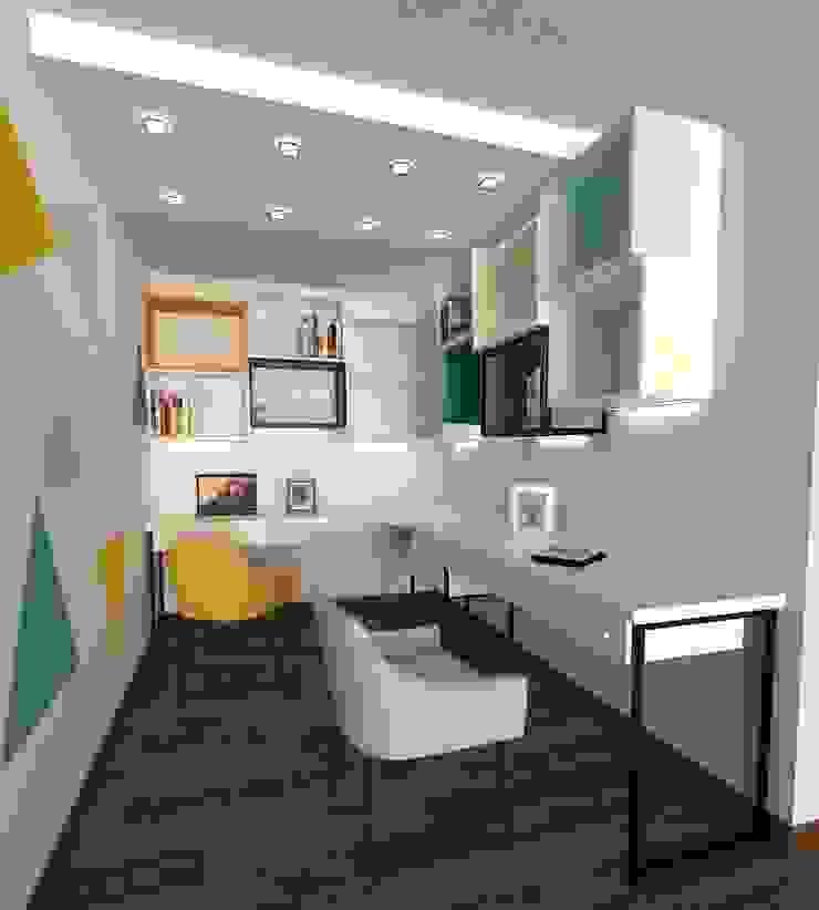 Sala de Estudio Pamela Cerna Interiores Salas modernas