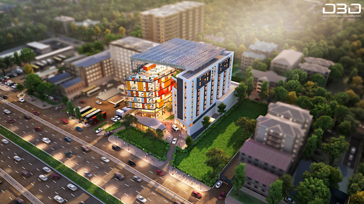 Aerial View | 3D Render by D3D Architectural Visualisation