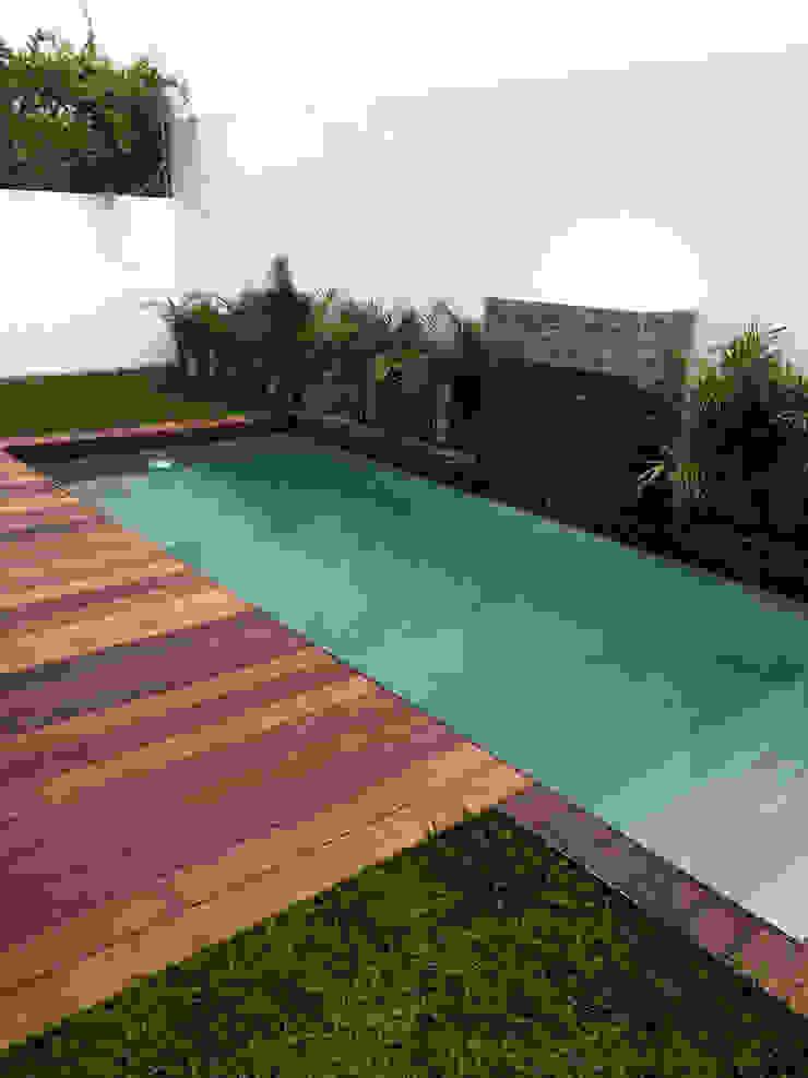 Zen Ambient Garden Pool Concrete