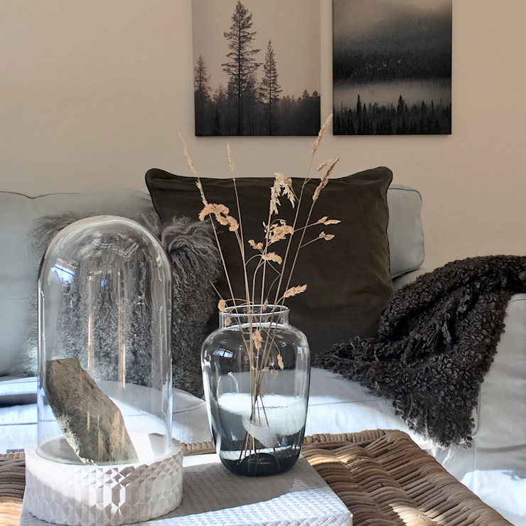 Münchner home staging Agentur GESCHKA Living room Grey