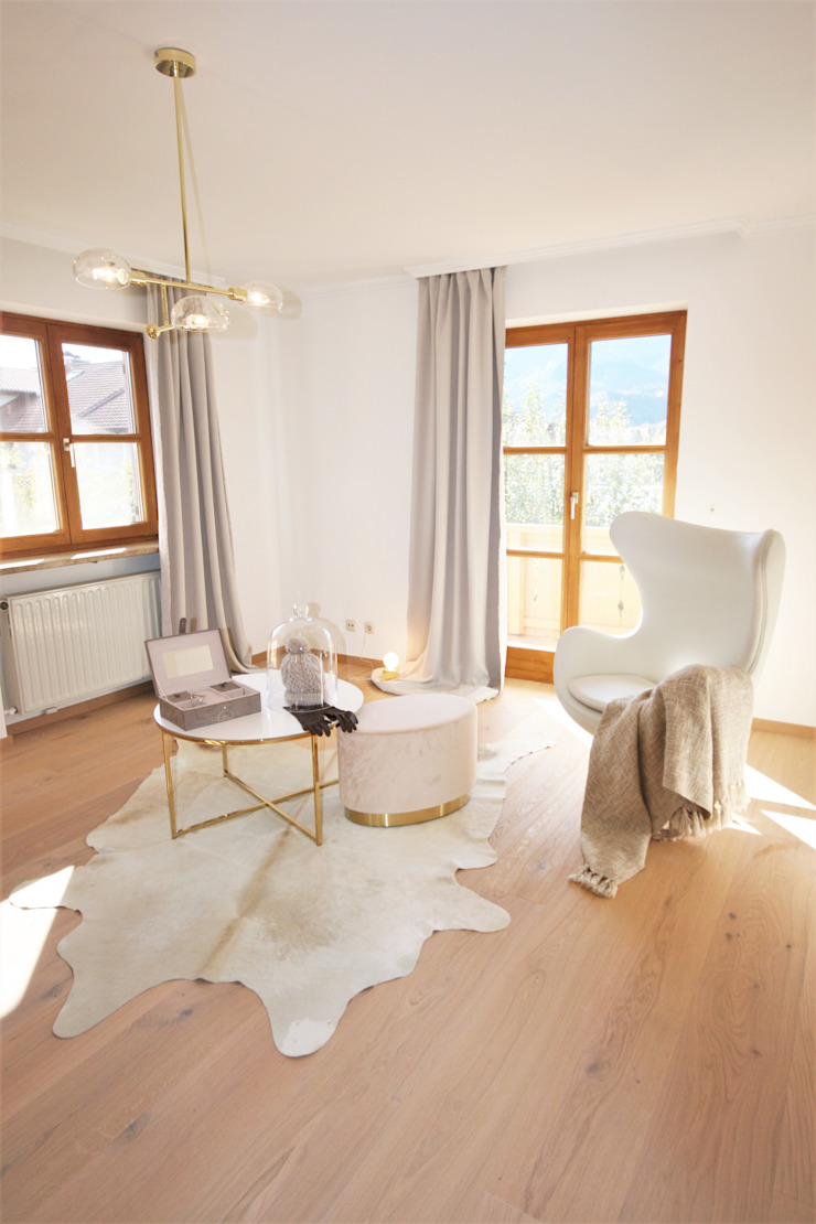 Münchner home staging Agentur GESCHKA Country style dressing room