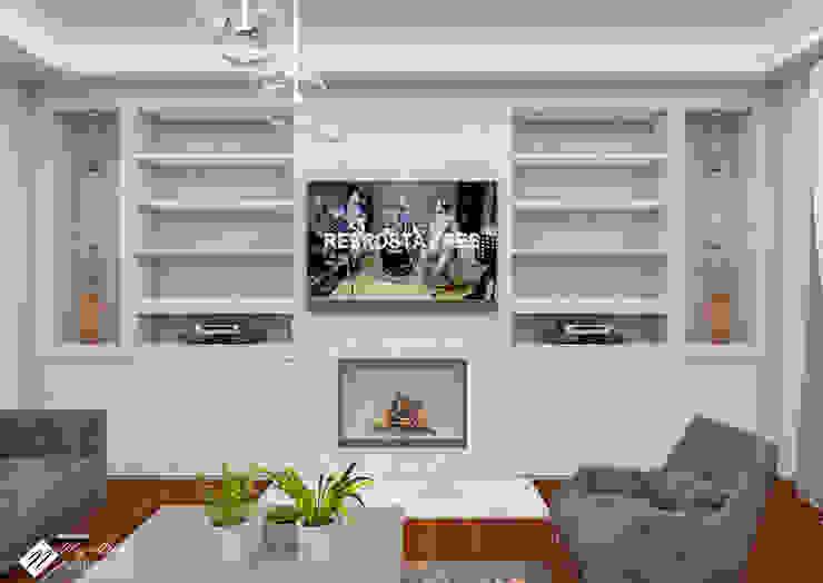 Konut Tasarım Minimalist Oturma Odası NEG ATÖLYE İÇ MİMARLIK Minimalist