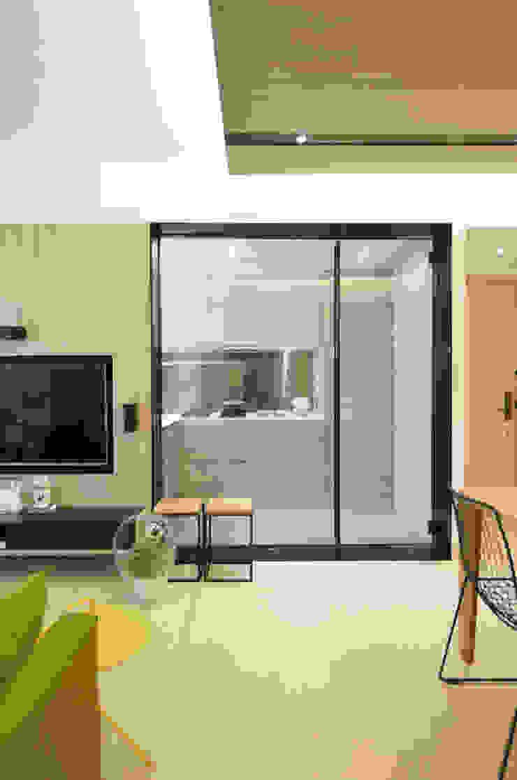 by A Square Ltd Modern Glass