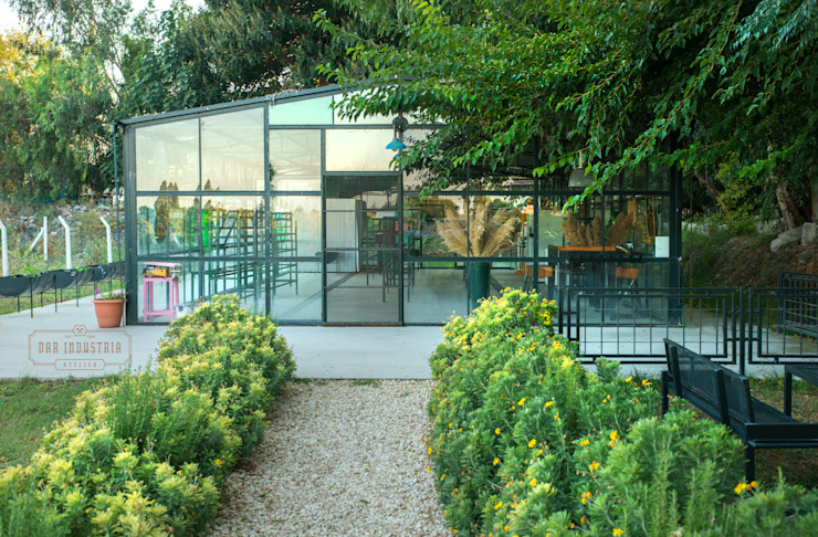DAR INDUSTRIA Industrial style conservatory