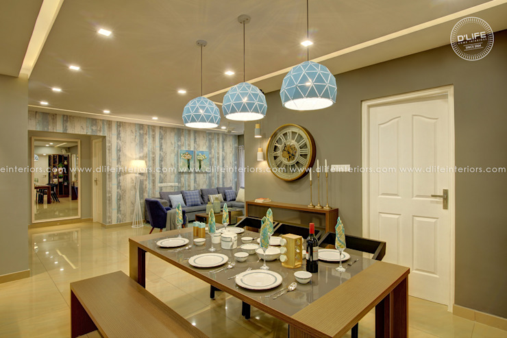 Contemporary Styled Dining Space DLIFE Home Interiors Modern dining room