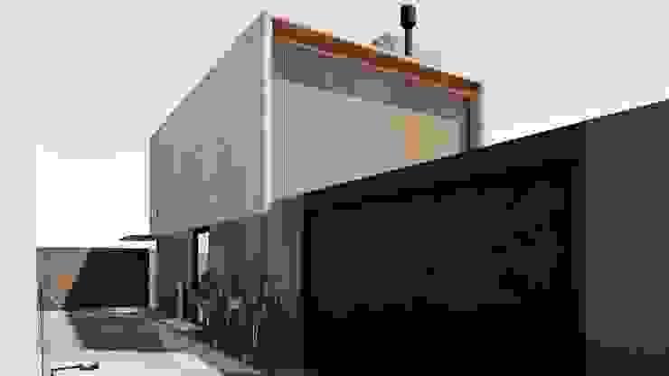 D arquitetura Dinding & Lantai Minimalis Beton Grey
