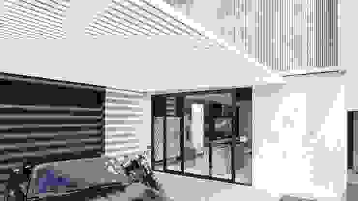 D arquitetura Garasi Minimalis