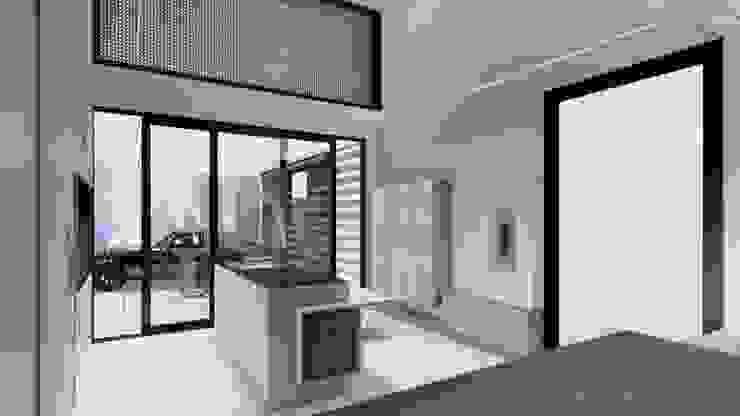 D arquitetura Rumah Minimalis