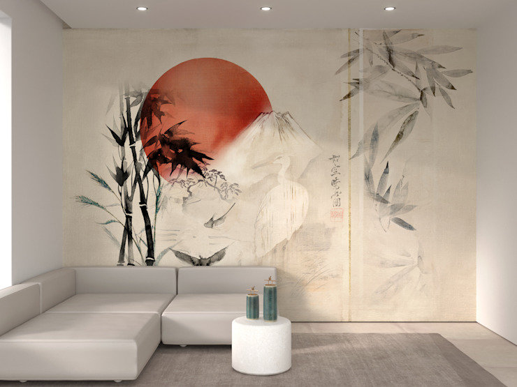 Cartilla Asian style walls & floors