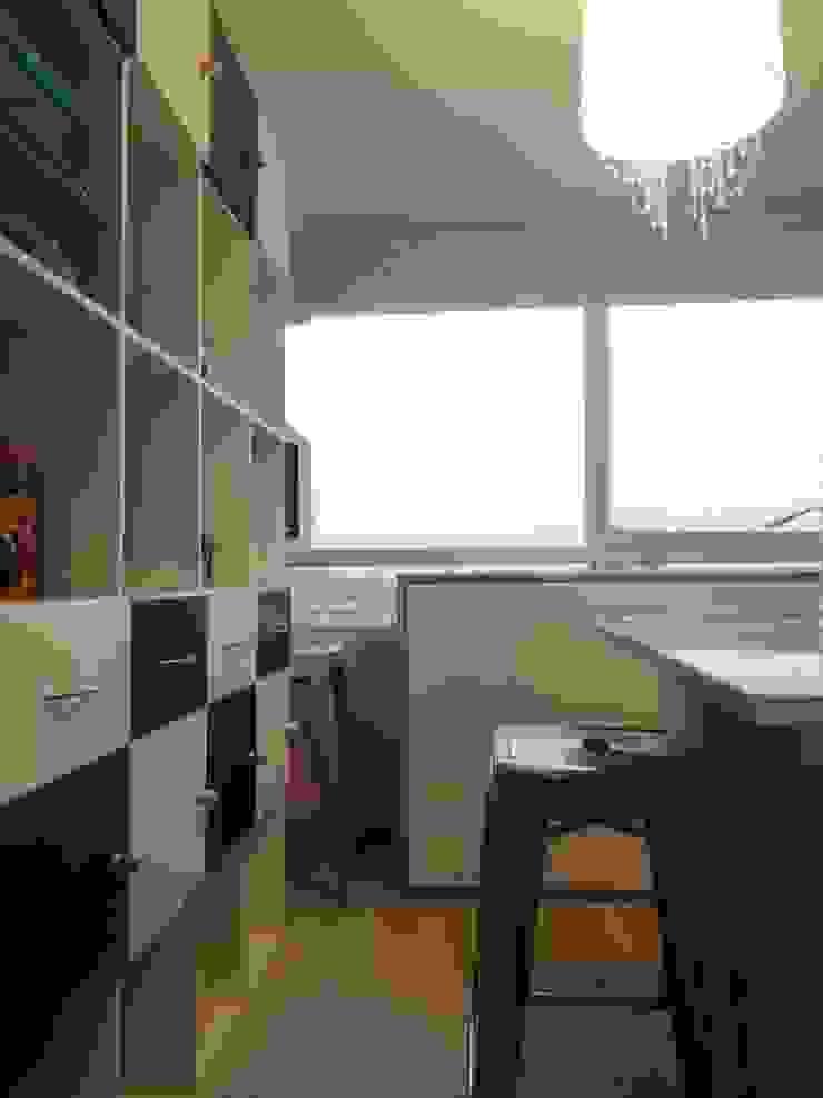 Eklektyczne domowe biuro i gabinet od Indesoul Eklektyczny