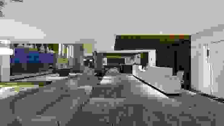 LOBBY | RECEPÇÃO Arquitetura Sônia Beltrão & associados Hotéis modernos Mármore Branco