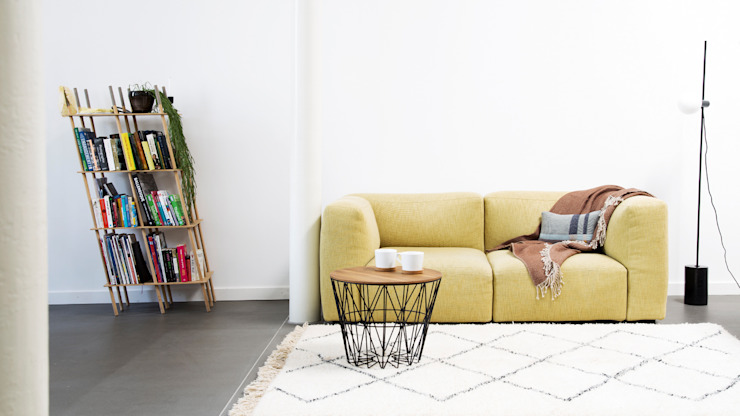 Cosy Living Room: modern  by My Beni, Modern Textile Amber/Gold