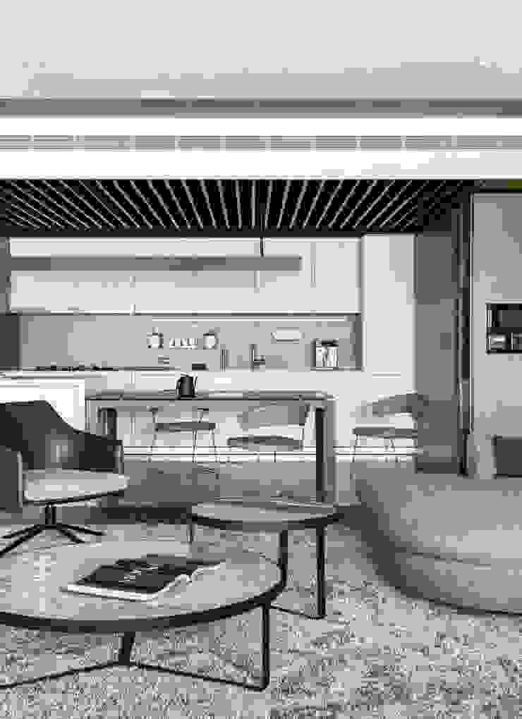 Modern Kitchen by 十境創物空間設計 Modern