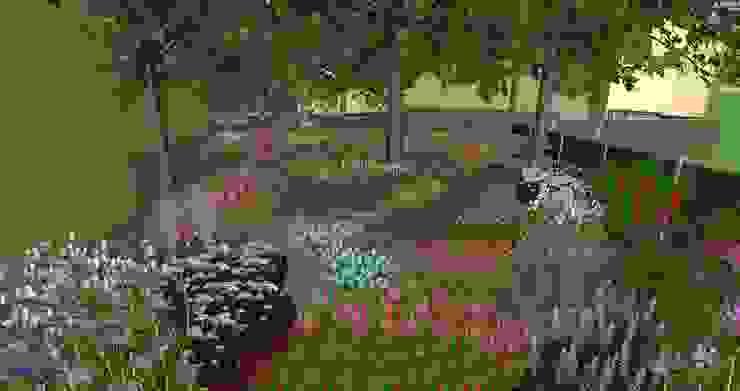 Rosin Manuel Garden deSign Taman Modern