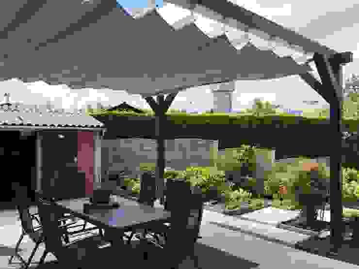 ZONZ sunsails Balconies, verandas & terraces Accessories & decoration Textile Grey