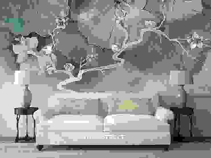 Студия Wall Street 牆壁與地板壁紙