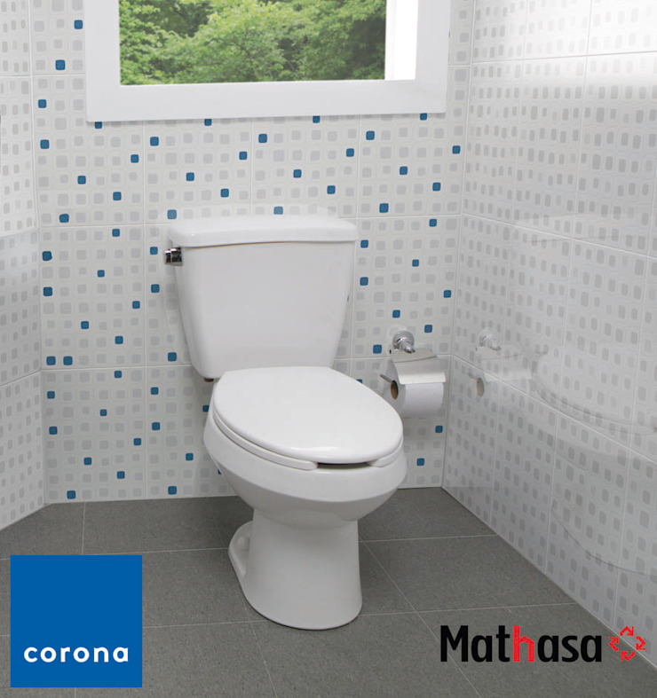 Mathasa BathroomSinks Porcelain White
