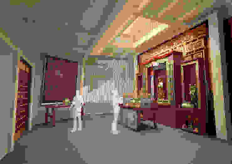 Hong Kong Causeway Bay Tin Hau Temple 根據 Office for Fine Architecture 日式風、東方風
