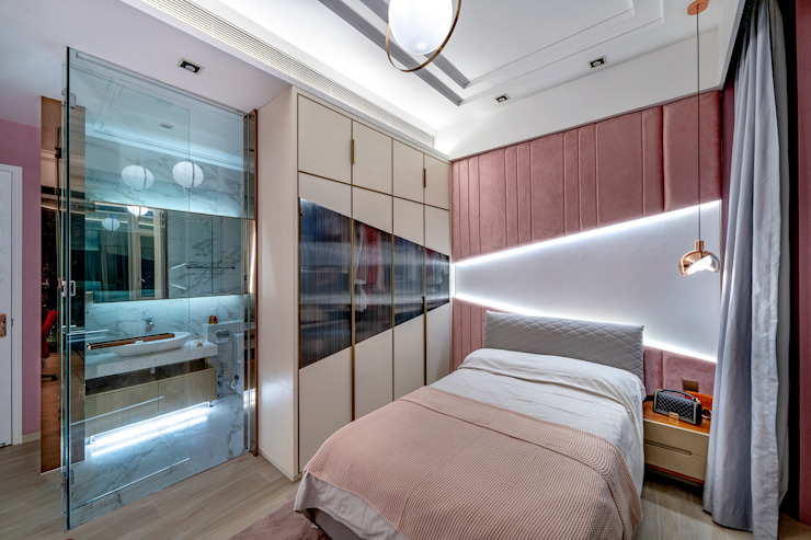 House in Tai Wai Modern style bedroom by ED Design Limited Modern