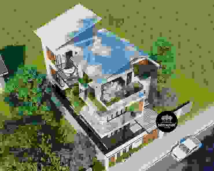 Mẫu thiết kế biệt thự hiện đại 3 tầng đẹp 150m2 tại Tphcm bởi NEOHouse