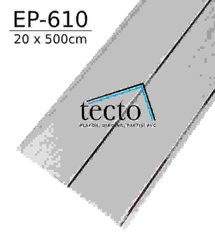 TECTO Plafon PVC EP-610 20cm X 500cm Oleh Tecto Plafon Asia Plastik