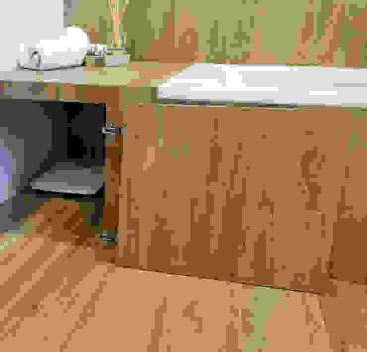 Decor-in, Lda Rustic style bathroom Ceramic Brown