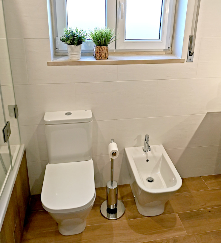 Decor-in, Lda Modern bathroom Ceramic White