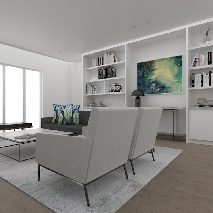 Living Room by Inside Ordinary Minimalist
