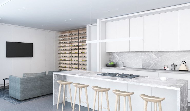 Kitchen by Inside Ordinary Minimalist
