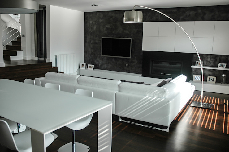salón comedor David Rius Serra Comedores de estilo moderno