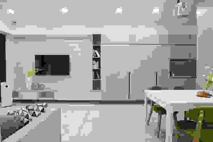 客廳 根據 張顥騰室內裝修設計有限公司 簡約風