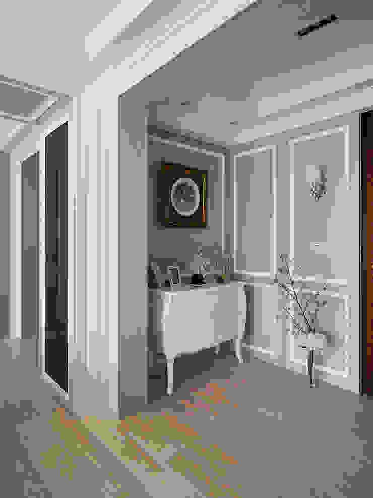 線條構起古典之美 經典風格的走廊,走廊和樓梯 根據 黔鏡室內設計 古典風