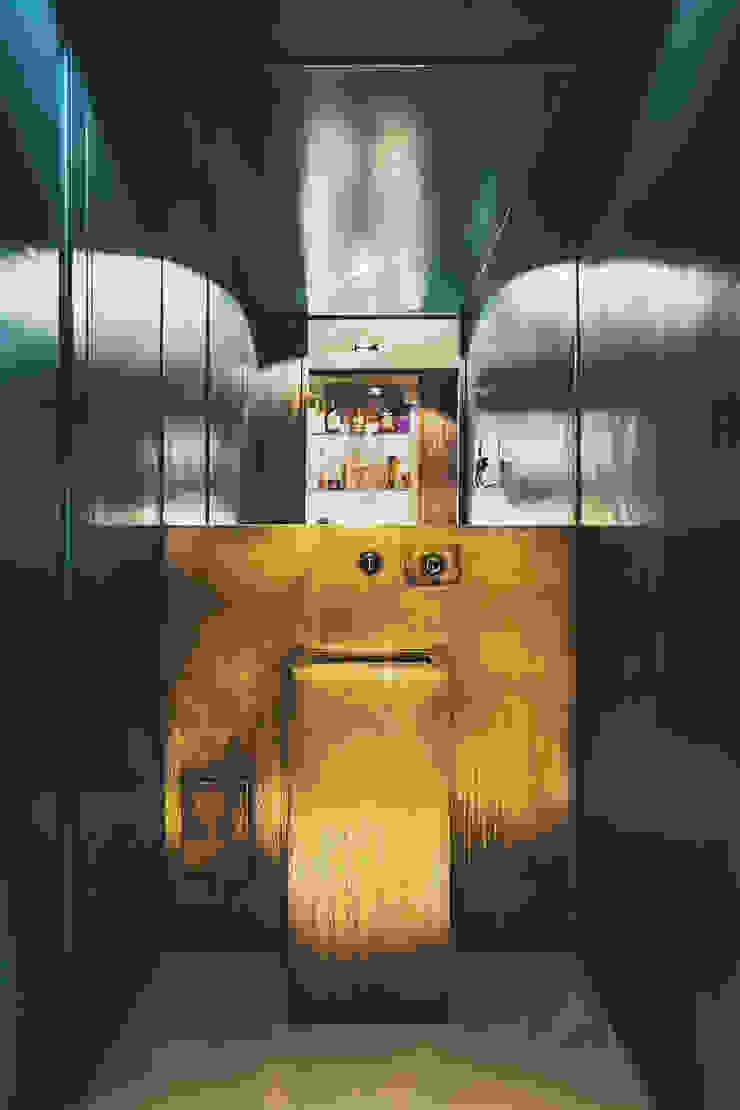 MODO Architettura Modern style bathrooms