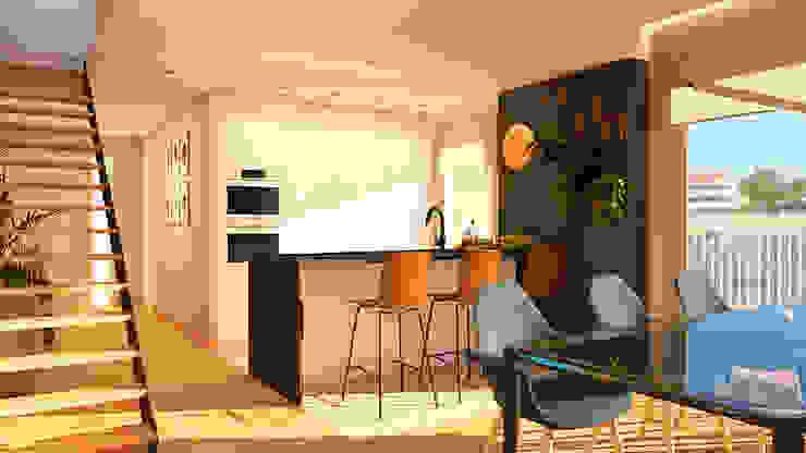 Modern Kitchen by crearteinteriors Modern